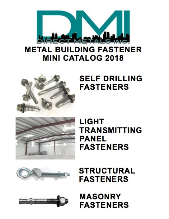 DMI 2018 Metal Building fasteners