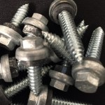Woodzac Zinc Alloy Cap Premium Metal Roofing Fasteners