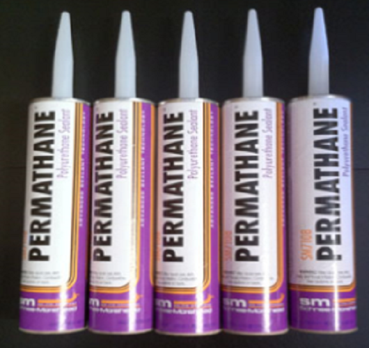 permathane sealant, window sealant , polyerethane sealant, the best caulking, sm permathane, 7108 permathane, permanent metal roofing sealant, permanent window sealant, gray caulking, white caulking, bronze caulking, caulking for bronze screen cage, gutter repair sealant, dmi permathane,