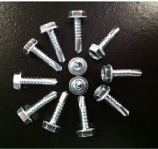 Self Drilling HWH Screws Without Washers – Direct Metals