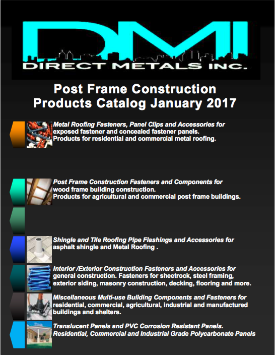2017 Post Frame Construction Building Products