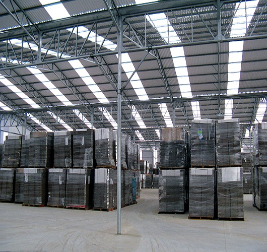 polycarbonate skylight panels for warehouse and code approved DMI
