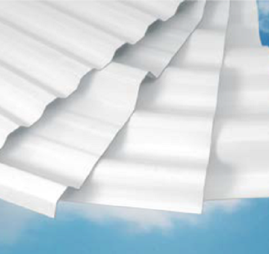 PVC Corrosion Resistant panels, corrugated PVC panels, Duraclad PVC panels agtuff