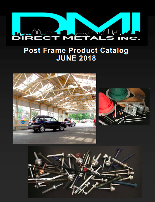 2018 Post Frame Construction Catalog