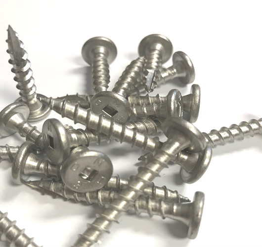 SS Panclip MTW, 304SS 316 SS Pancake head screw, clip screw, miami screw , NOA pancake screw, competitor to stainless concealer screw