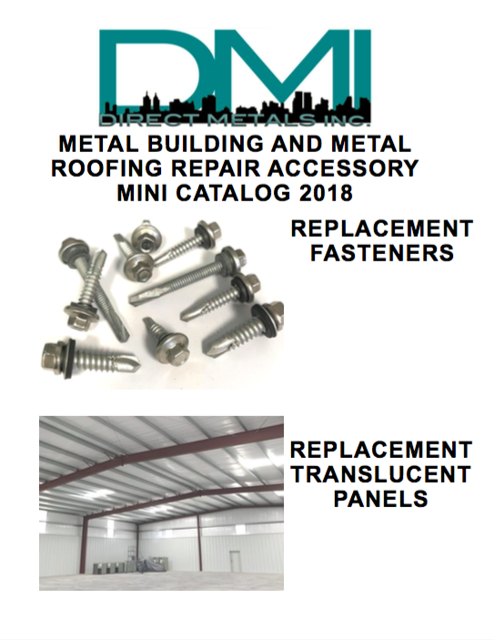 DMI 2018 Metal Roofing & Building Repair and Replacement Fasteners