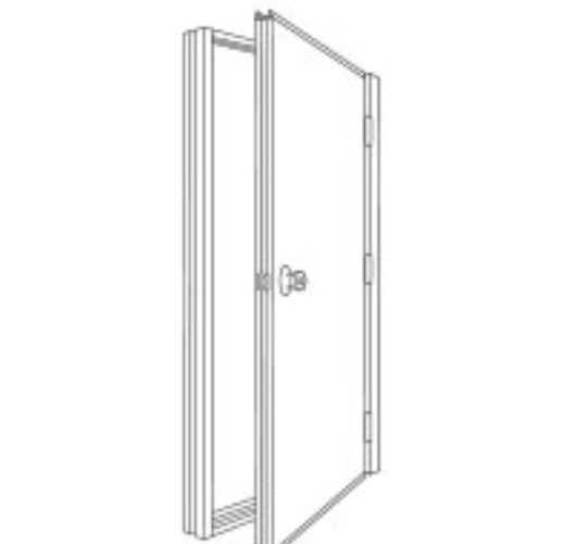 ST 26 and AL 26 mandoor man doors entry doors for steel building, utility doors