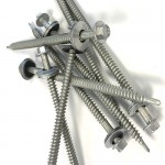 all purpose screw with washer, hwh screw for wood metal or concrete