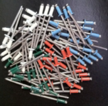 DMI has expanded our painted rivet offerings